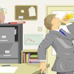 office drinker